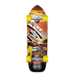 Yocaher Old School Longboard Complete -Route 66 Series - Diner