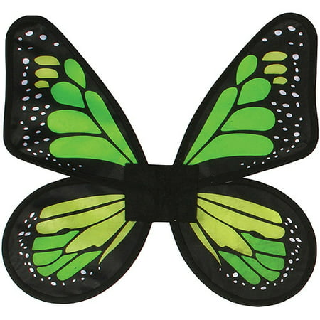 Satin Butterfly Wings Adult Halloween Accessory