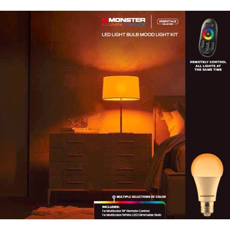 Monster Illuminessence 1 Led Bulb Kit With Premium Rf Touch Remote