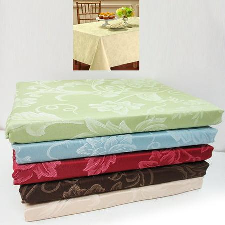 54 X 54 Tablecloth - 1 Damask Tablecloth 54