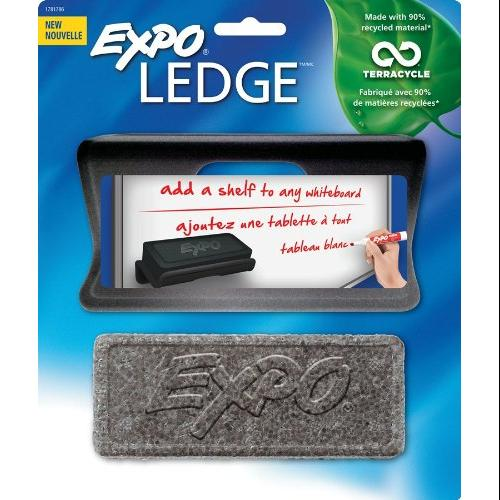 Expo Ledge With Eraser - Black - Foam (1781786)
