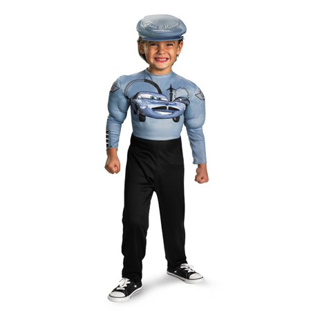 Cars Child Finn Mcmissile Classic Muscle Costume Disguise - Finn Mcmissile Costume