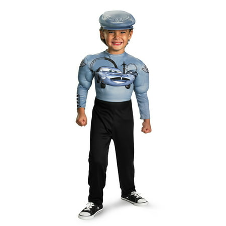 Cars Child Finn Mcmissile Classic Muscle Costume Disguise 30429](Race Car Costume)