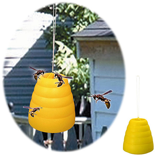 Beehive Wasp Trap, Yellow