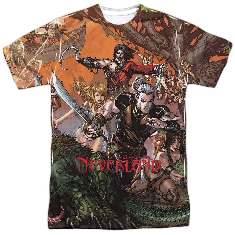 Zenescope Neverland Mens Sublimation Shirt