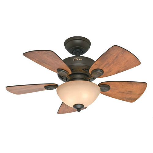 """Hunter 34"""" Watson Ceiling Fan, New Bronze by Hunter Fan Company"""
