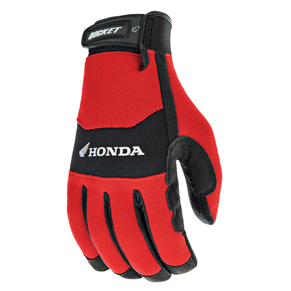 Joe Rocket Honda Crew Touch Mens Red/Black Textile Motorcycle Gloves