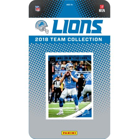 Detroit Lions 2018 Team Set Trading Cards - No Size