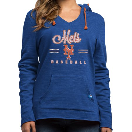 """New York Mets Womens Majestic MLB """"Chase The Dream"""" Hooded Sweatshirt by"""