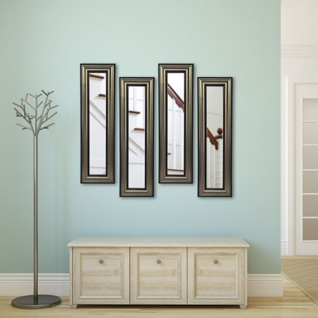 Rayne Mirrors Molly Dawn Antique Silver Wall Mirror (Architectural Silver Outdoor Wall)