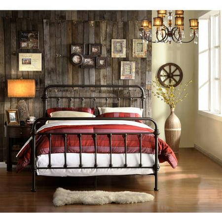 Weston Home Antique Bronze Full Bed ()