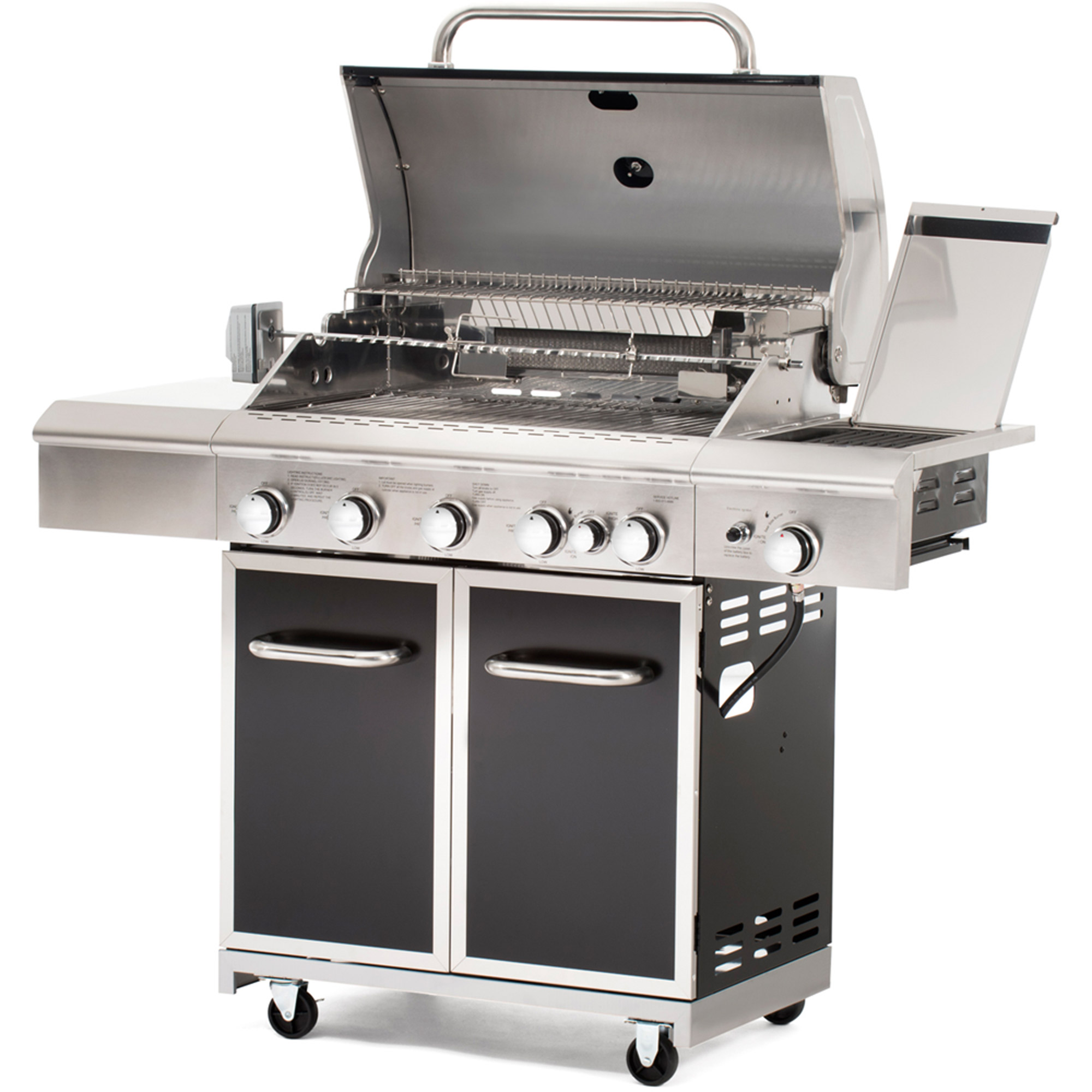 Better Homes and Gardens 5 Burner Gas Grill with Searing Side