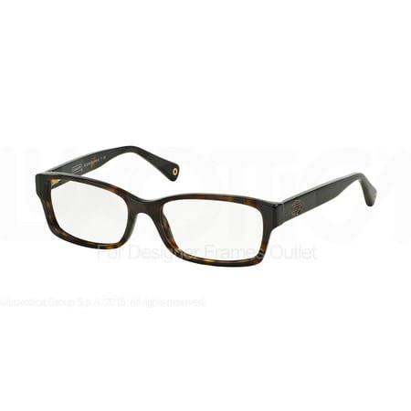 COACH Eyeglasses HC 6040 5001 Tortoise 52MM ()