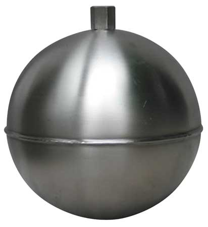 GR25S4251A NAUGATUCK Float Ball,Round,SS,2-1//2 In