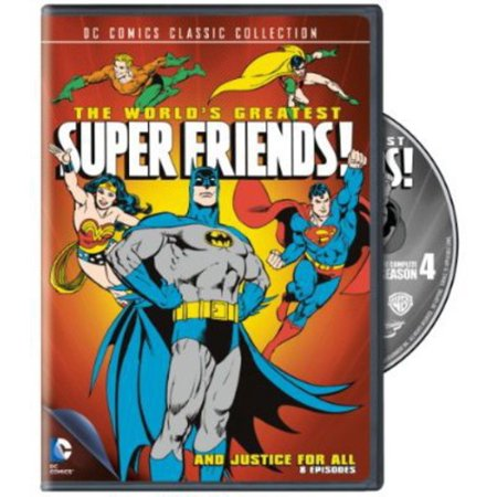 World's Greatest SuperFriends: The Complete Season Four: And Justice for All (DVD) (Greatest Miracle In The World)