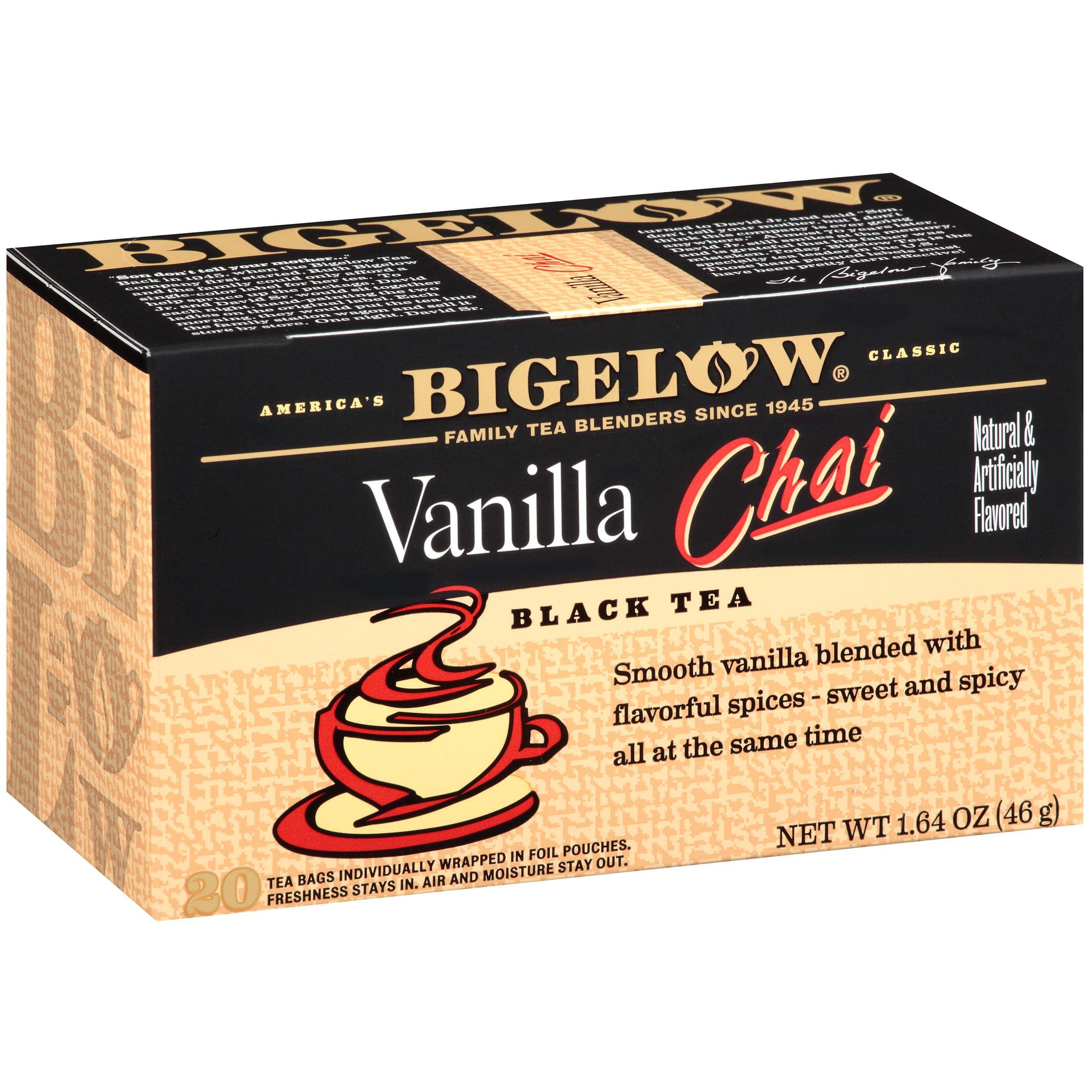 Bigelow Vanilla Chai Black Tea Blend 20 ct Box by RC Bigelow, Inc.