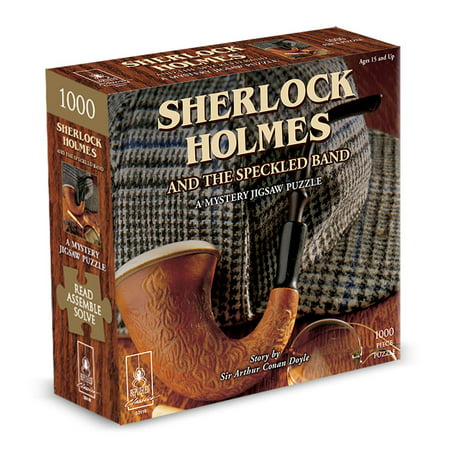 Sherlock Holmes Classic Mystery Puzzle (Best Puzzle Mystery Games)