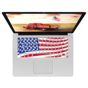 KB Covers Cool Designs Keyboard Cover - MacBook Air - USA Flag - Smooth - Silicone