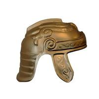 Adult Light Weight Trojan Helmet Plastic Spartan Warrior Gladiator Costume Hat