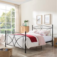 Christopher Knight Home Delphine Classical Metal Queen-Sized Bed Frame by