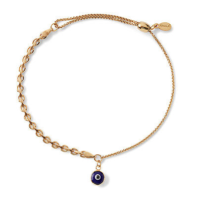 Alex and Ani Evil Eye Track Pull Chain Bracelet