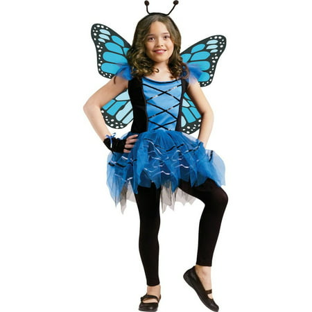 Ballerina Butterfly Girl's Costume (Butterfly Adult Costumes)