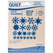 Tattered Lace Quilt Die Cut-snowflake