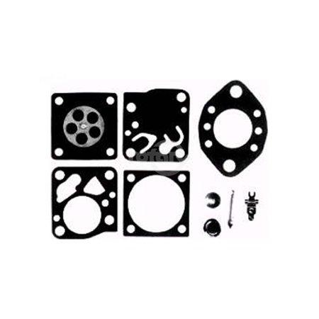 Complete HU Tillotson Carburetor Kit.  All Gaskets, Diaphragms, Lever, Screen & Welch Plugs.