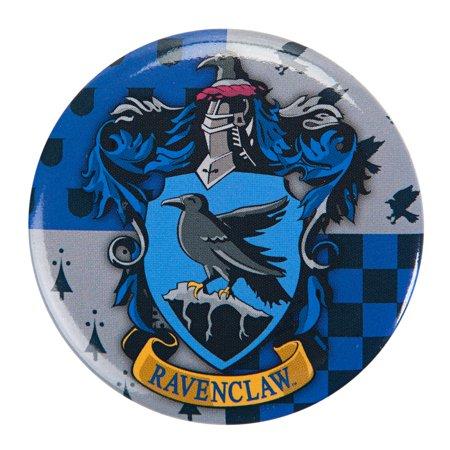 Harry Potter Ravenclaw Symbol 1.5 inch Pinback Button 2012 Political Pinback Button