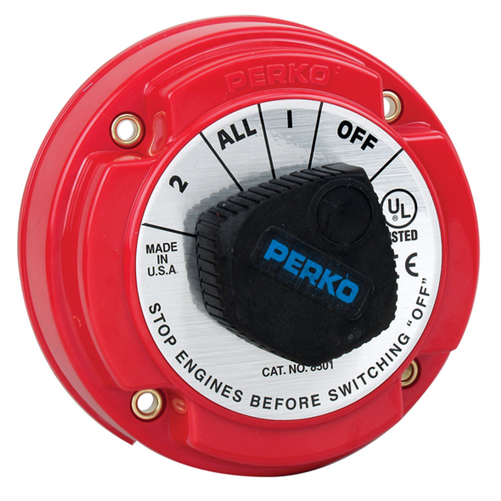 Perko Medium Duty Battery Selector Switch - 250A Continuous