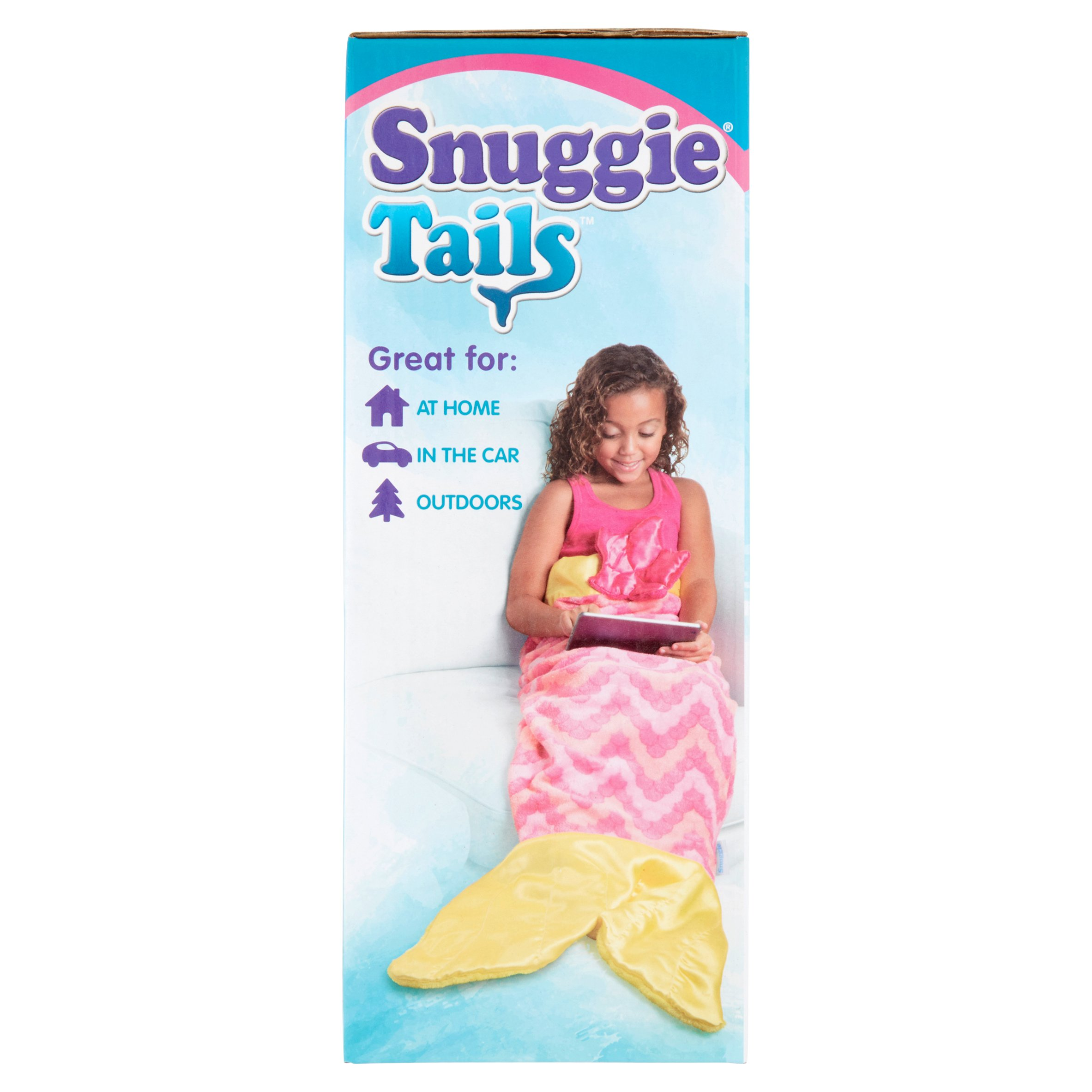 Snuggie Tails Allstar Innovations Mermaid Blanket for Kids /(Pink ...