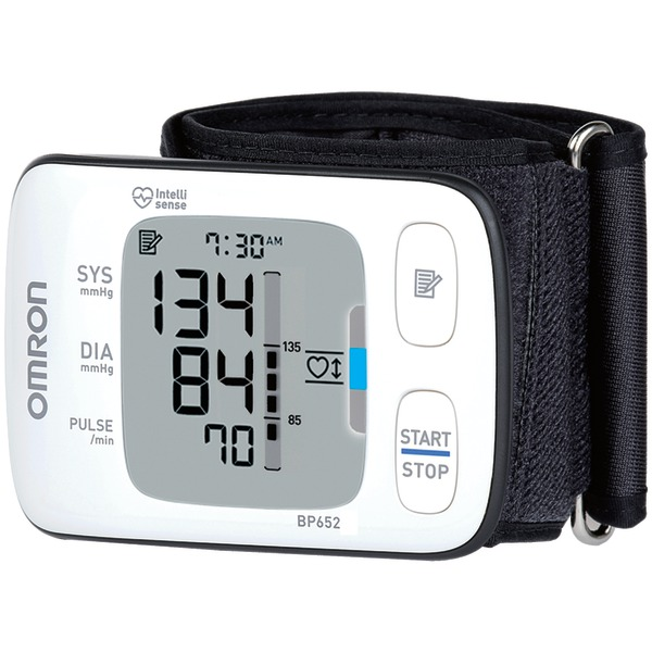 OMRON BP652 7 Series Wrist Blood Pressure Monitor