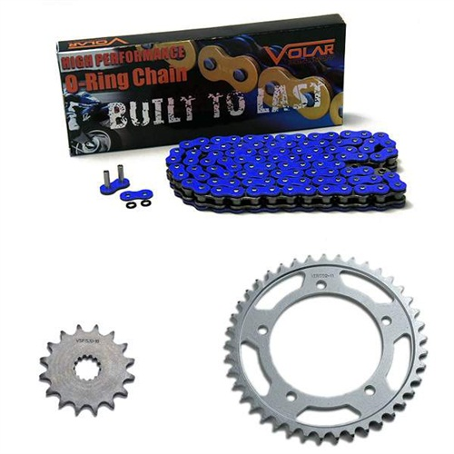1997-2005 Suzuki Bandit 1200 GSF1200S O-Ring Chain and Sprocket Kit - Blue