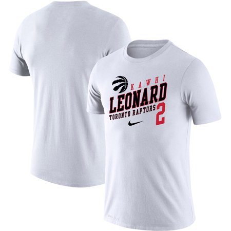 size 40 5a2b0 ef4ec Kawhi Leonard Toronto Raptors Nike Player Performance T-Shirt - White