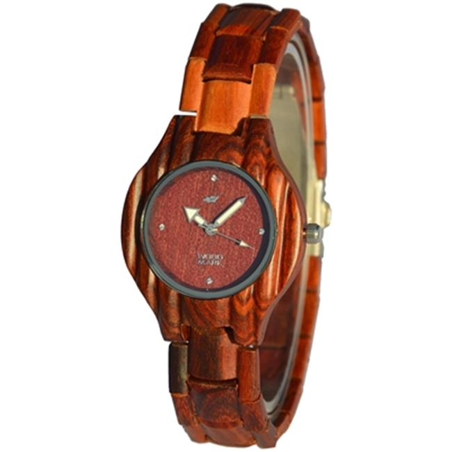 Wood Mark ZS-W011A Womens Heritage Red Sandalwood Watch