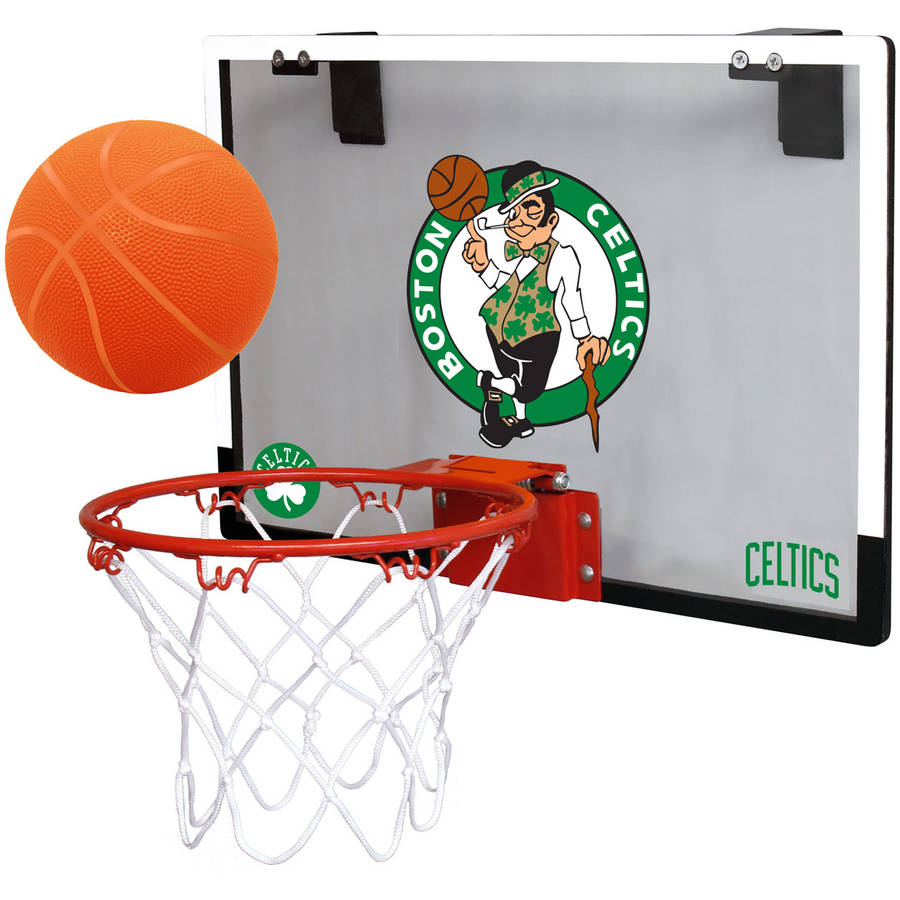 Rawlings NBA Game On Polycarb Hoop Set Boston Celtics