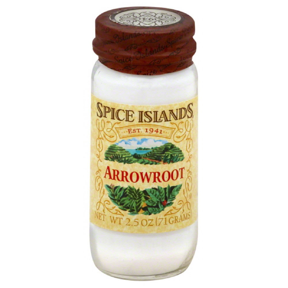 Spice Islands Arrowroot, 2.5 Oz (Pack of 3)