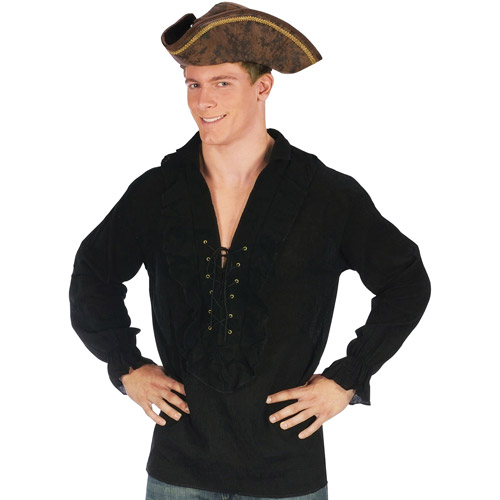 Pirate Fancy Adult Halloween Shirt, One Size