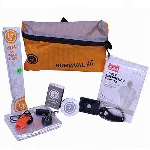 FeatherLite Survival Kit 3.0, Orange by Ultimate Survival Technologies