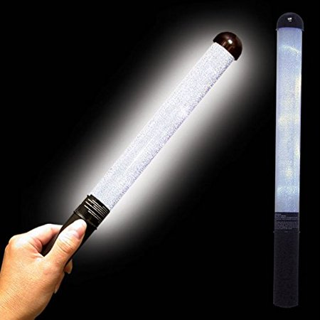 White LED and Light - Up Patrol Wand, By Windy City Novelties - Windy City Coupon