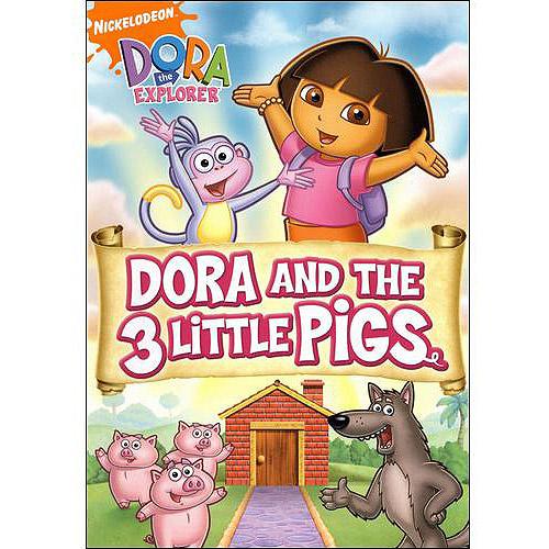Dora The Explorer: Dora And The Three Little Pigs (Full Frame)