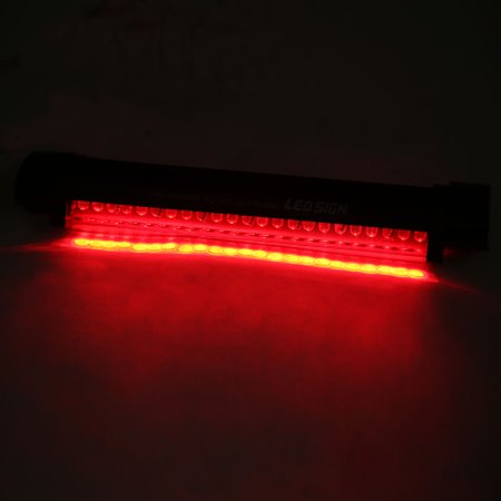 Adjustable Angle Red 24 Car 3rd Brake Stop Lamp High Mount Rear Tail Light - image 1 of 2