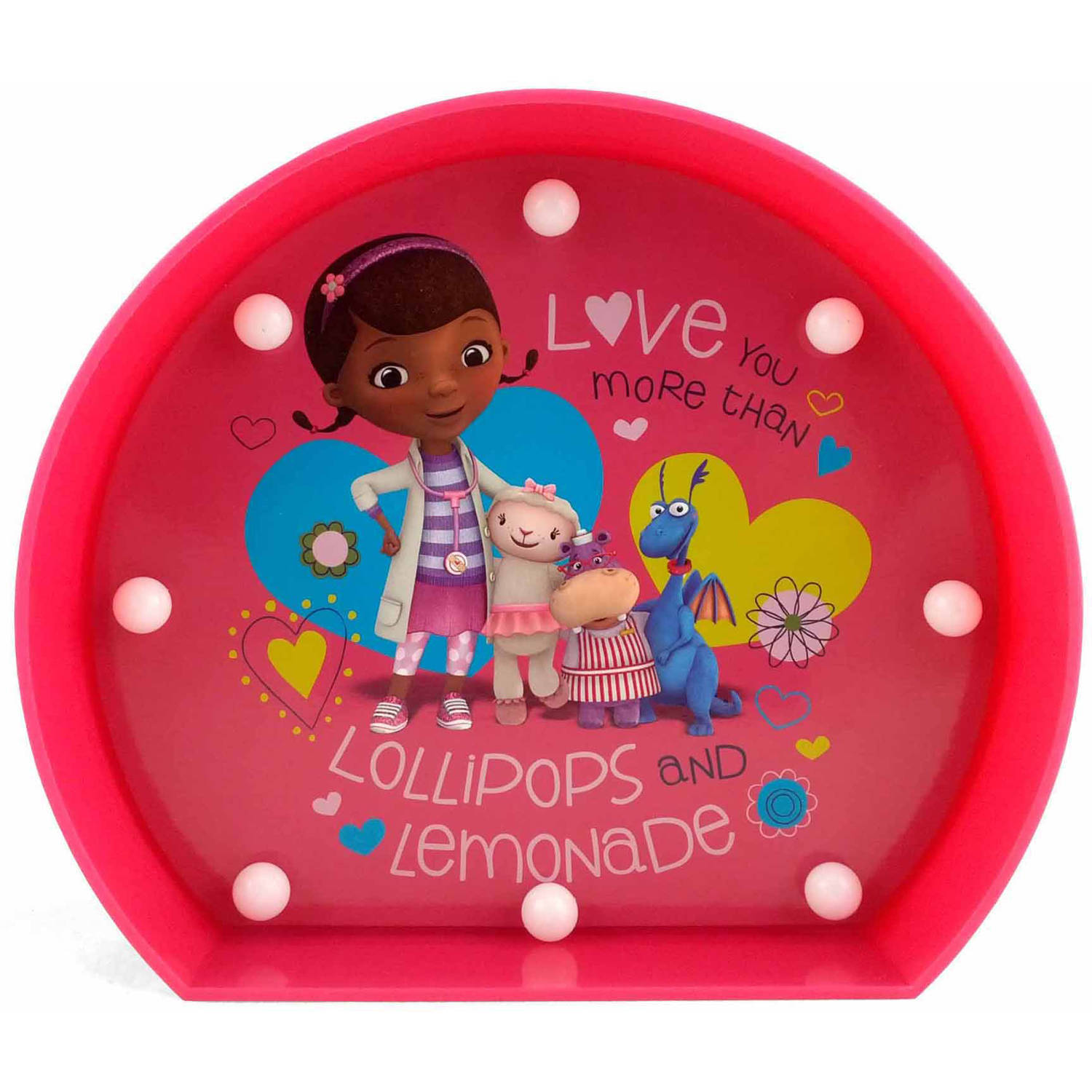 Disney Marquee Lights - Doc McStuffins