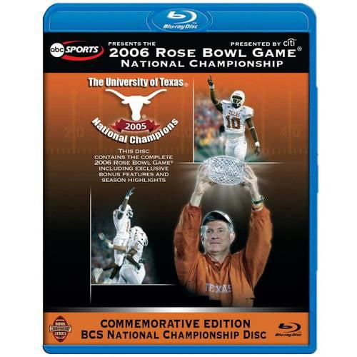 2006 Rose Bowl Game: National Championship - Texas Vs. USC (Blu-ray)