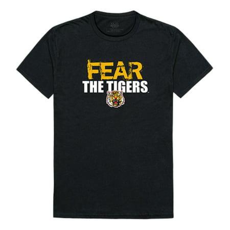 Grambling State University Tigers Fear Tee T-Shirt Black XL