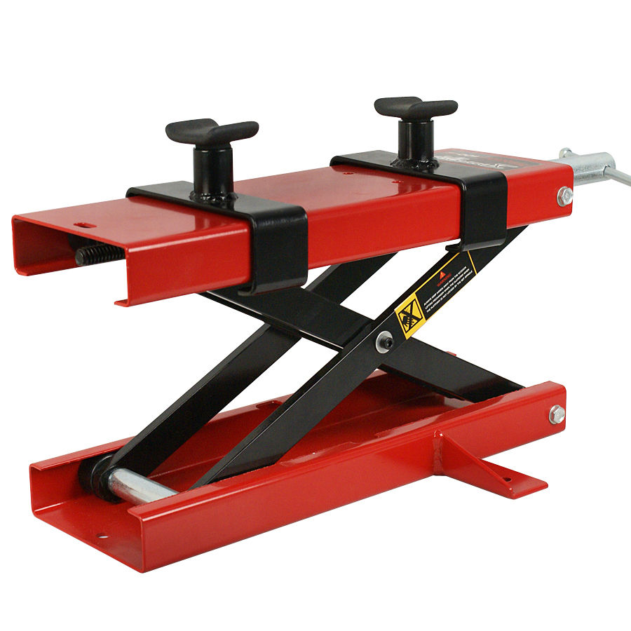 Zeny 1100 LB Mini Scissor Lift Jack ATV Motorcycle Dirt Bike Scooter Crank Stand New