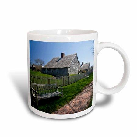 3dRose New York, East Hampton. Mulford Farmstead - US33 WBI0207 - Walter Bibikow, Ceramic Mug, 15-ounce