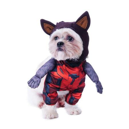 Guardians Of The Galaxy Walking Rocket Raccoon Pet Costume, Medium - image 1 de 1