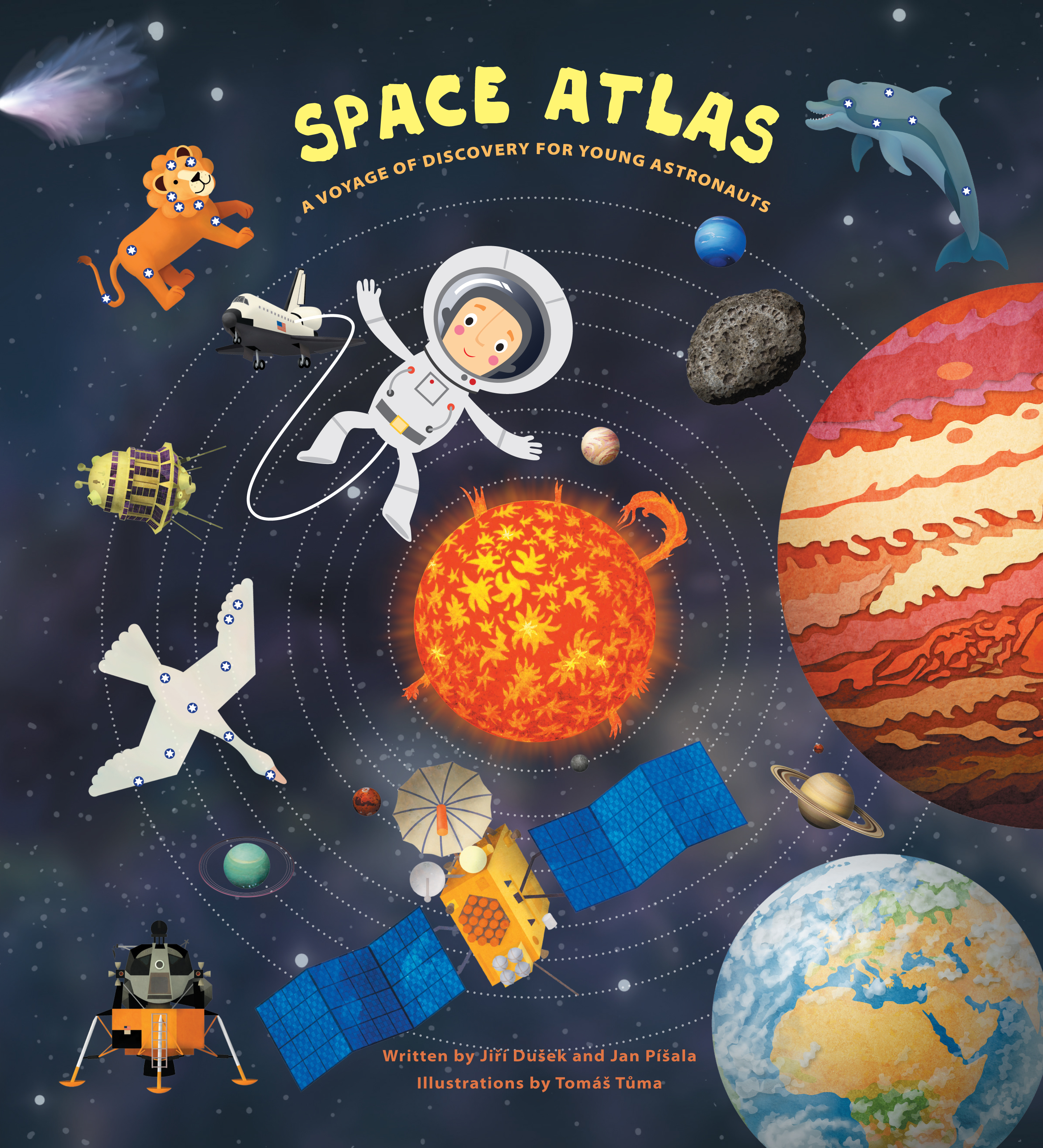 Space Atlas : A Voyage of Discovery for Young Astronauts