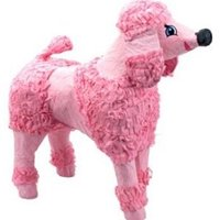 Standard Poodle Pinata, Pink, 18in x 20in